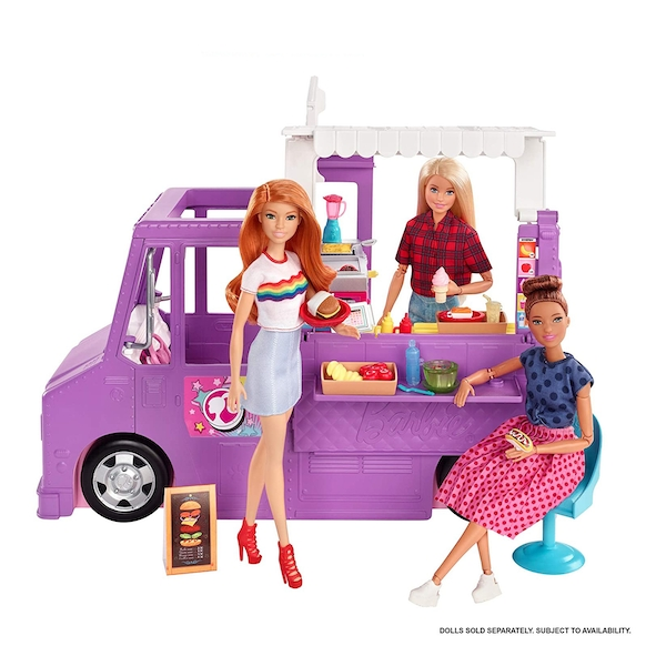 Barbie You Can Be Anything - Food 'N' Fun Food Truck Playset