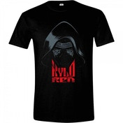 Star Wars VII Men's The Force Awakens Kylo Ren Mask X-Large T-Shirt