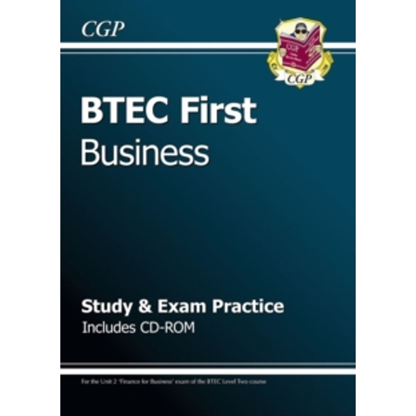 BTEC First in Business - Study & Exam Practice with CD-ROM by CGP Books (Paperback, 2013)