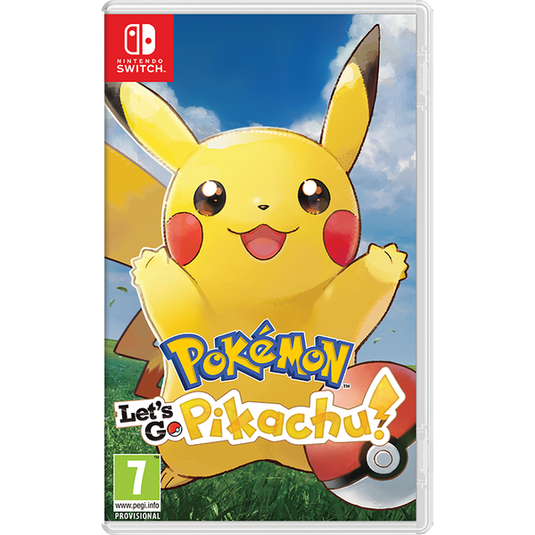 Pokemon Let's Go Pikachu! Nintendo Switch Game