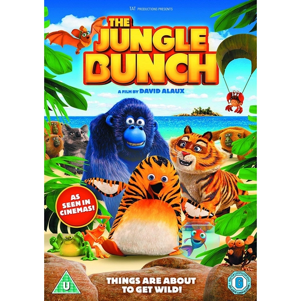 The Jungle Bunch DVD