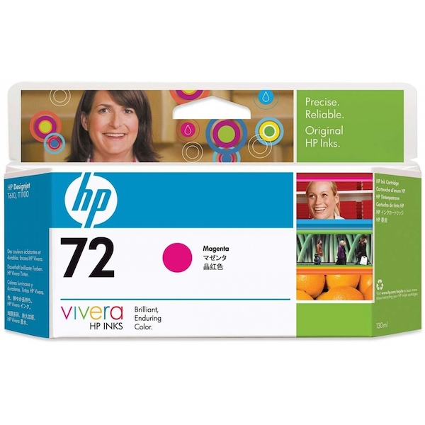 HP C9372A (72) Ink cartridge magenta, 130ml - Image 2