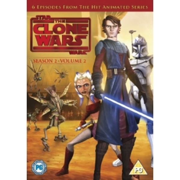 Star Wars Clone Wars Season 2 Volume 2 DVD