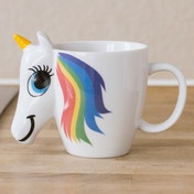 Thumbs Up! Colour Changing Unicorn Mug
