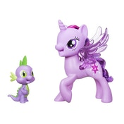 My Little Pony - Princess Twilight Sparkle and Spike