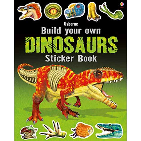 Build Your Own Dinosaurs Sticker Book by Simon Tudhope (Paperback, 2016)