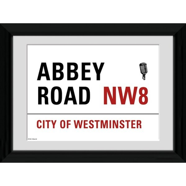 London Abbey Road Framed 16x12 Photographic Print