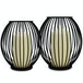 Cage Candle Holders - Set Of 2   M&W - Image 2