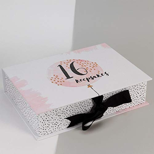 Luxe Birthday Keepsake Box - 16