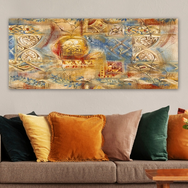 YTY1023134050469_50120 Multicolor Decorative Canvas Painting