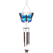 Blue Butterfly Windchime