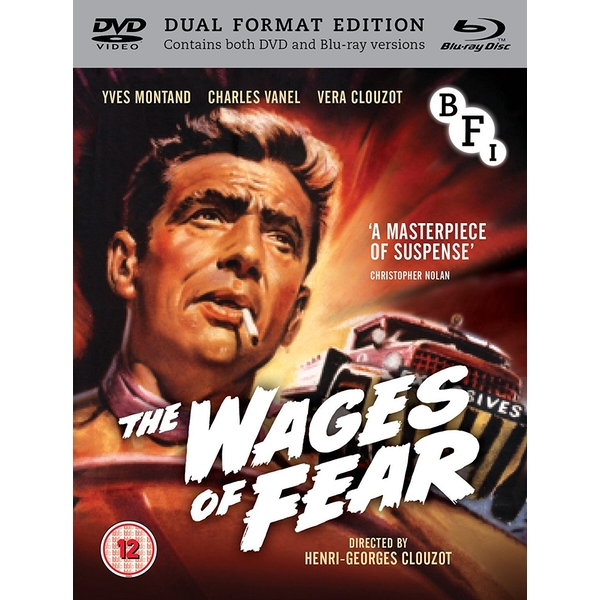 The Wages of Fear DVD + Blu-ray
