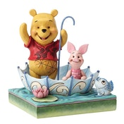 50 Years of Friendship (Winnie the Pooh & Piglet) Disney Traditions Figurine