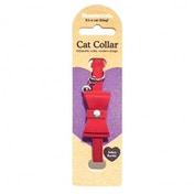 Rosewood Bow Tie Red Designer Cat Collar