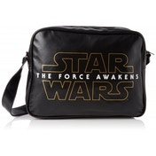 Star Wars VII The Force Awakens Logo Shoulder Messenger Bag