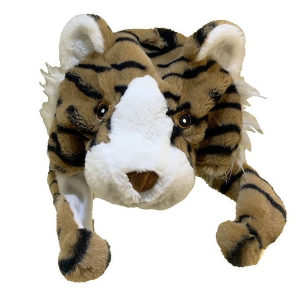 Plush Tiger Hat