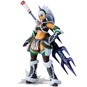 Hunter Swordswoman Kirin 'U' Series (Monster Hunter X Vulcanlog Monhan Revo) Action Figure