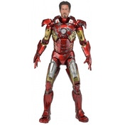Neca Marvel Avengers 1/4 Scale Battle Damaged Iron Man Mark Vii