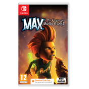 Max The Curse of Brotherhood Nintendo Switch Game [Download Code In A Box]
