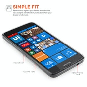 YouSave Accessories Microsoft Lumia 640 0.6mm Gel Case - Clear