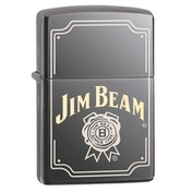 Zippo Unisex's Jim Beam Stamp Black Regular Windproof Lighter