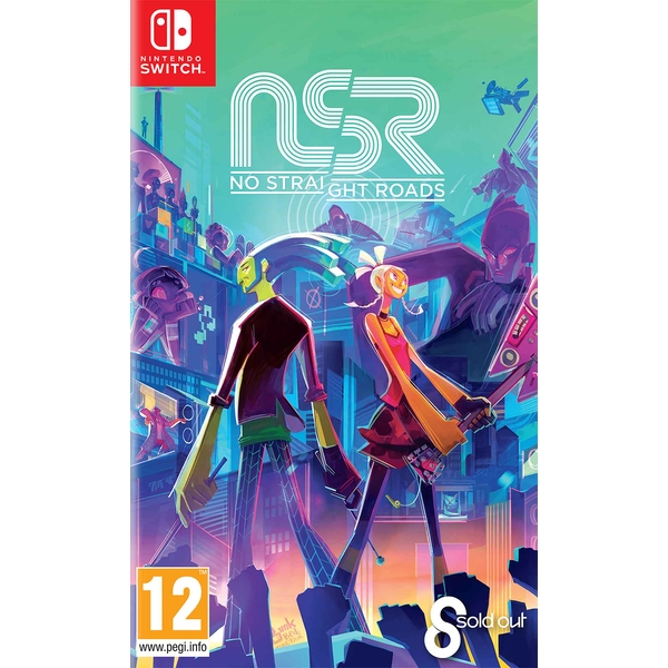 No Straight Roads Nintendo Switch Game