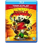 Kung Fu Panda 2 Triple Play Blu-Ray, DVD and Digital Copy