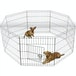 Large Outdoor Pet Playpen, 8 Panel Enclosure with Net Pet World - Image 6