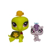 Littlest Pet Shop Pet Pawsabilities Turtle and Otter