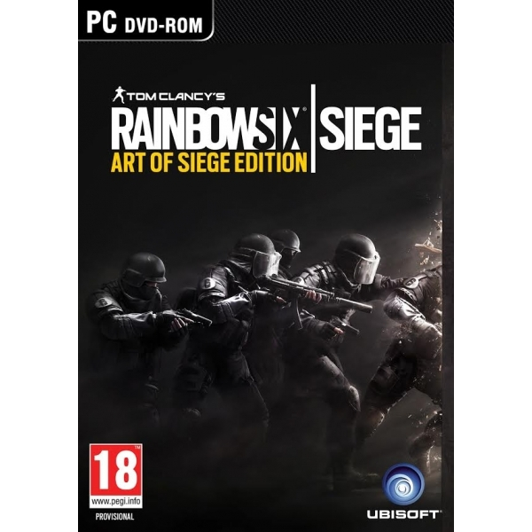 Tom Clancy's Rainbow Six Siege The Art of Siege Edition PC Game