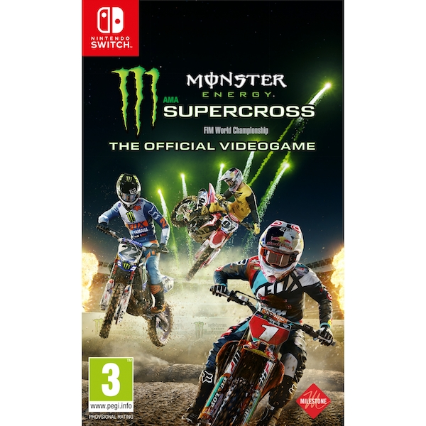 Monster Energy Supercross Videogame Nintendo Switch Game