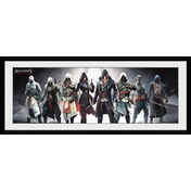 Assassins Creed Characters Framed Collector Print