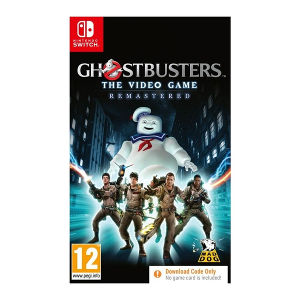 Ghostbusters The Videogame Remastered Nintendo Switch Game [Code in a Box]