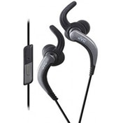 JVC HAETR40B Sports Earphones with Remote & Mic Black