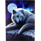 Large Guardian Of The North Canvas Picture by Lisa Parker