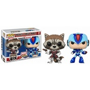Rocket vs MegaMan X (Marvel vs Capcom) Funko Pop! Vinyl Figure 2 Pack