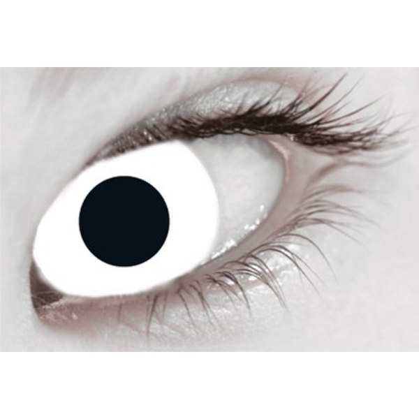 White Out 1 Day Halloween Coloured Contact Lenses (MesmerEyez XtremeEyez) - Image 2