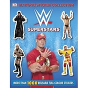 Ultimate Sticker Collection WWE Superstars