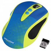 Hama Brightly Coloured 2.0 Wireless Optical Mouse Yellow
