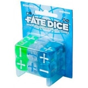 Fate Dice Atomic Robo Dice Board Game
