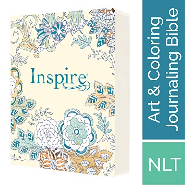 Inspire Bible-NLT: The Bible for Creative Journaling by Tyndale House Publishers (Paperback / softback, 2016)