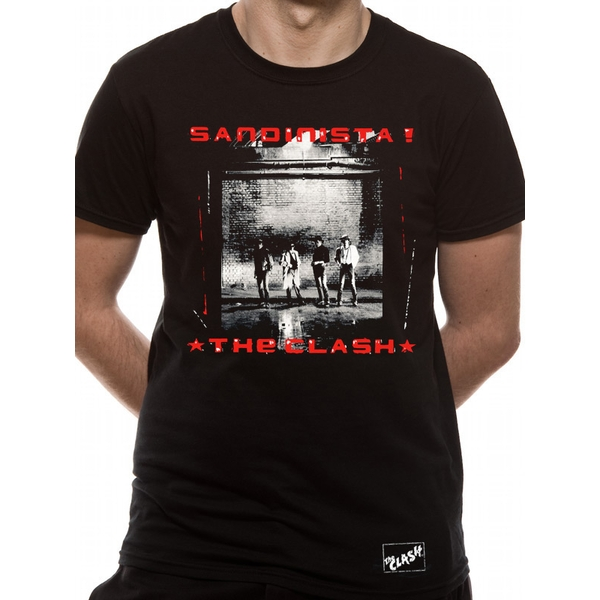 The Clash - Sandinista Men's Large T-Shirt - Black