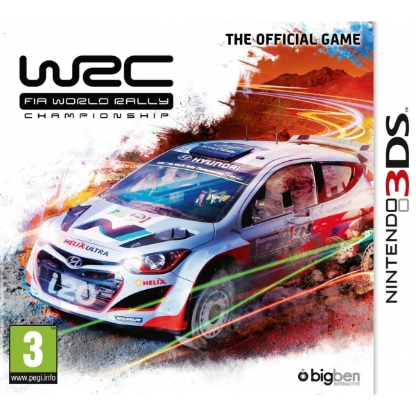WRC 2014 3DS Game