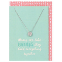 Mums are Like Buttons Necklace and Card