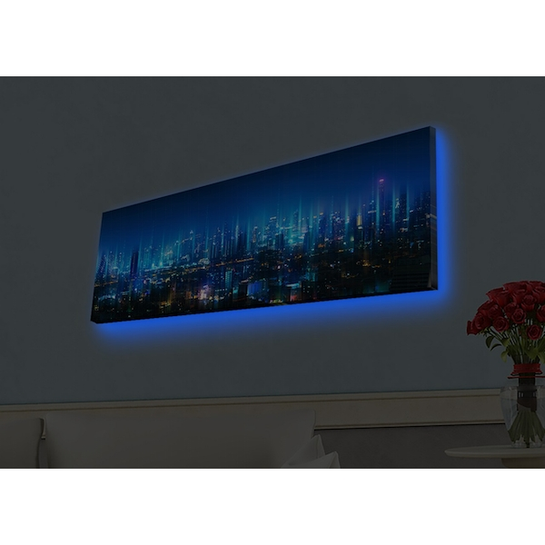3090HDACT-002 Multicolor Decorative Led Lighted Canvas Painting