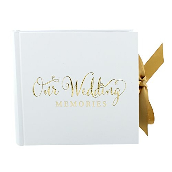 Juliana Always & Forever Gold Foil Photo Album - Our Wedding