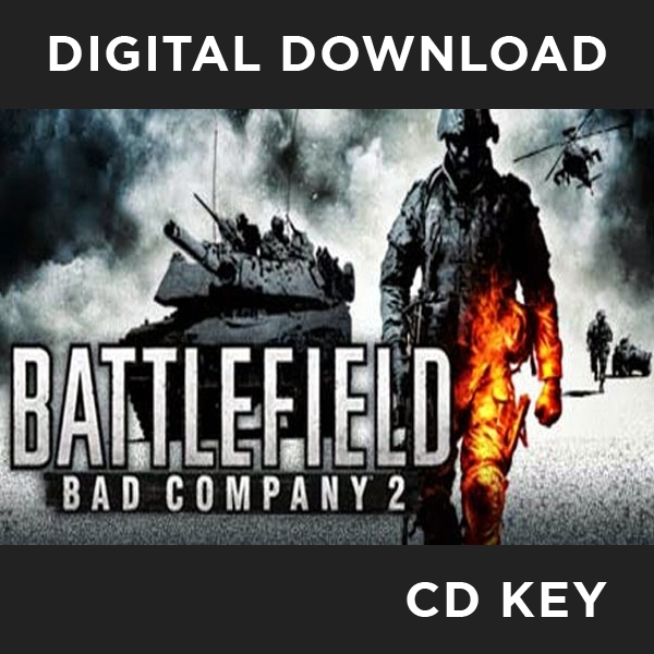 Battlefield Bad Company 2 Game PC CD Key Download for Steam