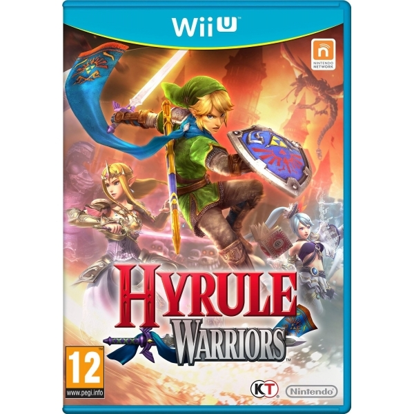Hyrule Warriors Wii U Game
