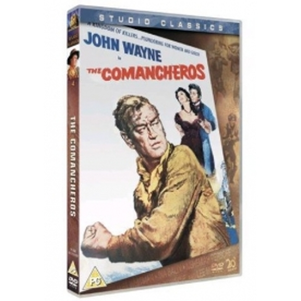 The Comancheros DVD
