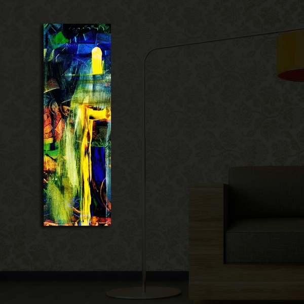 3090?ACT-28 Multicolor Decorative Led Lighted Canvas Painting
